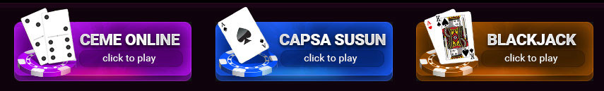 Ceme Online, Capsa Susun & Blackjack